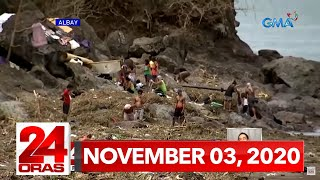 24 Oras Express: November 3, 2020 [HD]