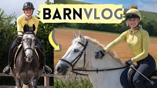 Jumping Joey + Trail Ride with Casper! Barn Vlog | This Esme