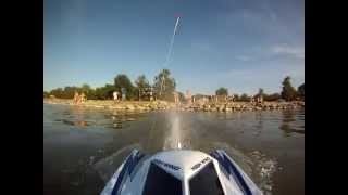 NQD 757 rc-boat with GoPro