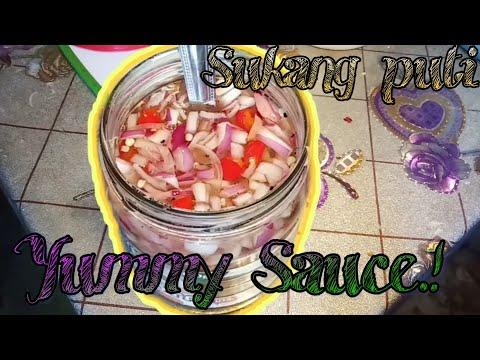 How To Make Vinegar Sauce ( Pano Gumawa Ng Sukang Sawsawan)