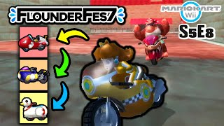 We Attempted the Vehicle TIER LIST Challenge in Mario Kart Wii