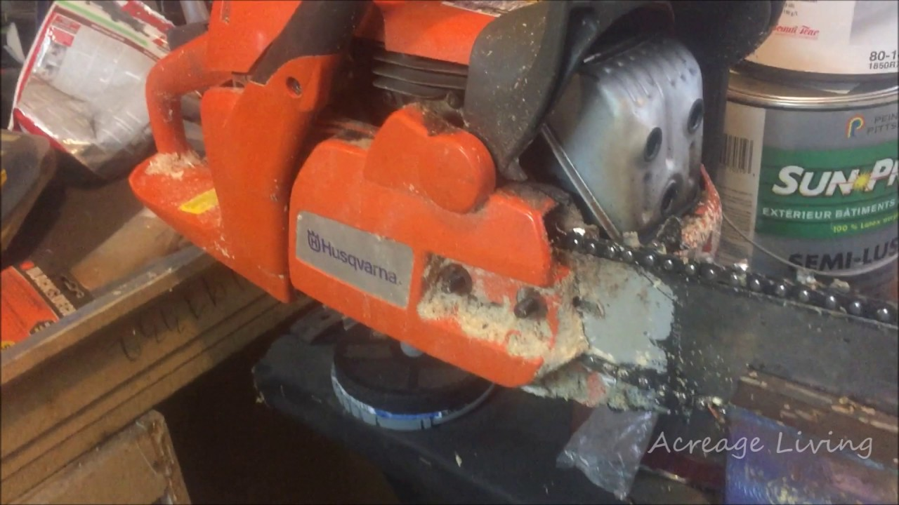 Chainsaw chain will not move check this out youtube chainsaw chain will not move check this out greentooth Images