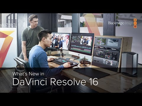 What&39;s New in DaVinci Resolve 16