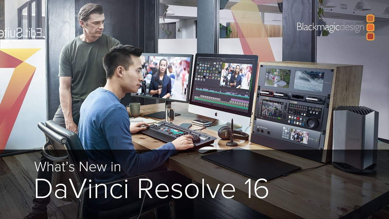 What S New In Davinci Resolve 16 Youtube