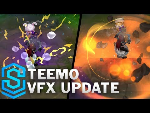 Teemo Visual Effect Update - All Affected Skins | League Of Legends