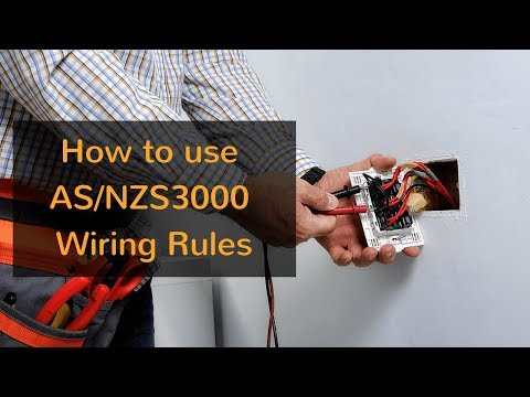 How To Use AS/NZS3000 Wiring Rules