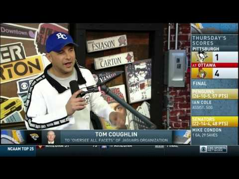 Boomer and Carton - Craig does his Tom Coughlin talking Jacksonville Jaguars