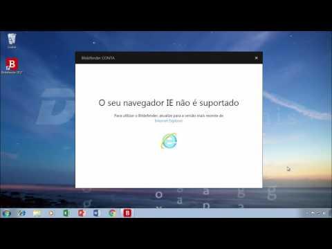 Your browser is not supported / O seu navegador IE não é suportado | Solução