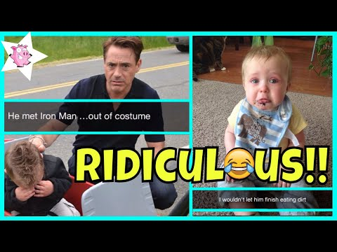 Ridiculous Reasons Why Kids Cry