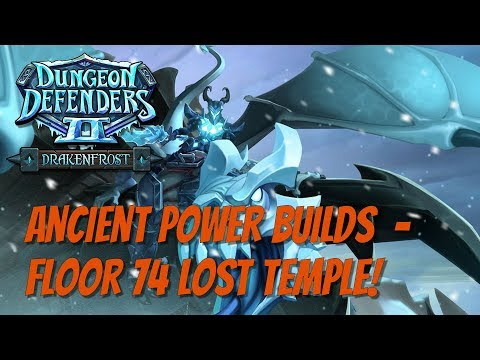 DD2 Ancient Power Meta Build - Floor 74 Lost Temple!