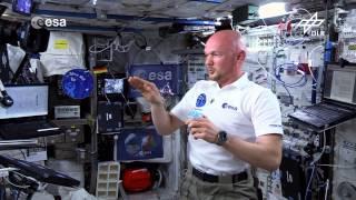 Alexander Gerst: Ein Kreisel auf der ISS (Flying Classroom)