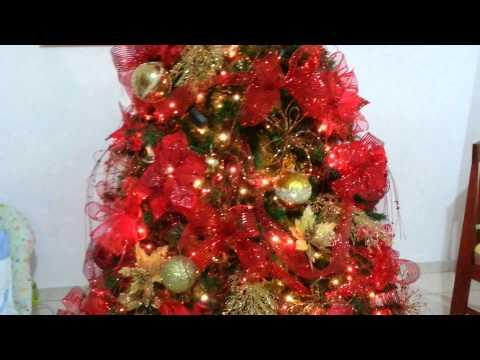 Decoracion arboles de navidad 2015 plata y dorado parte 7 - Decoracion arbol navidad 2015 ...