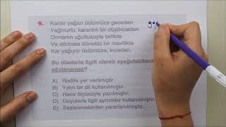 AYT Edebiyat Sınavda Çıkabilecek Sorular