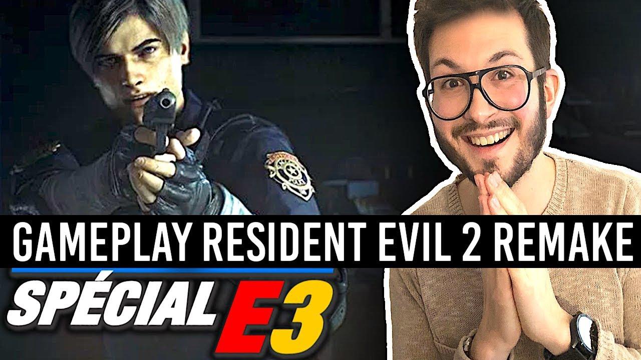 RESIDENT EVIL 2 REMAKE, la hype est totale ! GAMEPLAY et INFOS - E3 2018