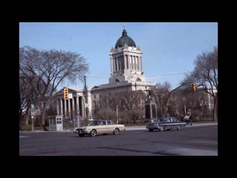 Vintage downtown WINNIPEG, Manitoba photos #2