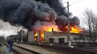 Пожар на салова😣