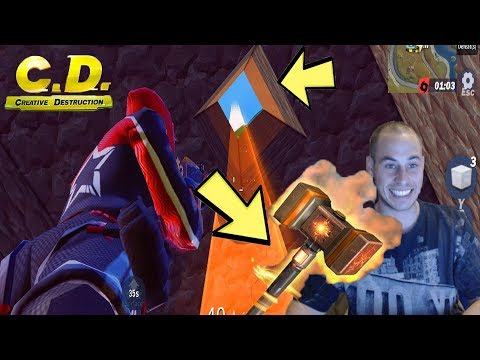 NEW MODE + NEW LAVA HAMMER FOUND! #EARRAPE! (Creative Destruction)
