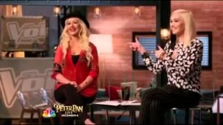 Christina Aguilera Mentoring on The Voice S07E20