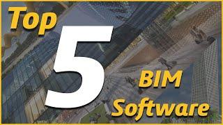 TOP 5 : Best BIM (Building Information Modeling) Software