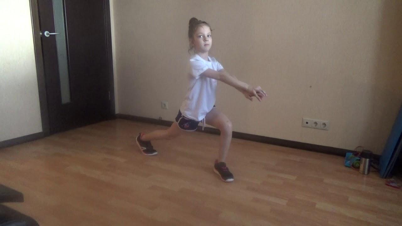 Зарядка для школьников/Офп фигуриста дома/Выпады/Разминка/Гимнастика для детей