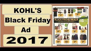 Kohls Black Friday Ad 2017- *HOT* *HOT* DOORBUSTER DEALS!
