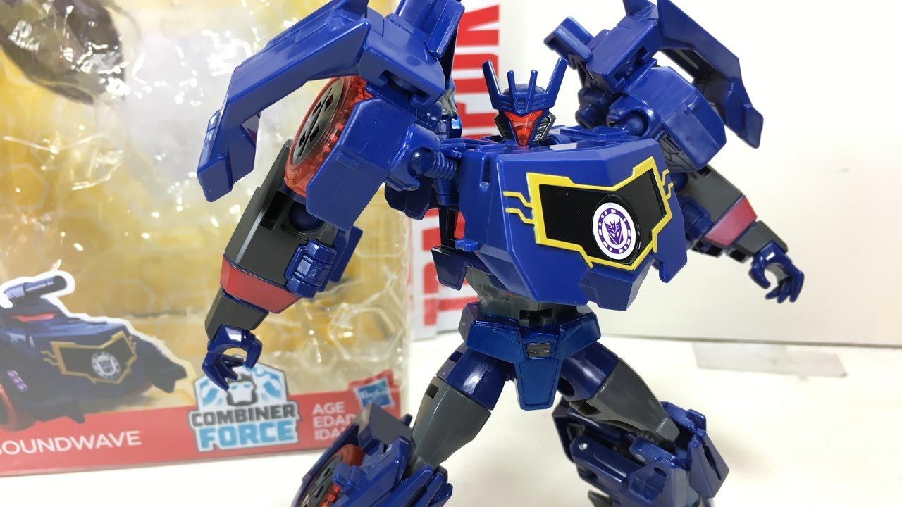Transformers Warrior Class ~ Decepticon SOUNDWAVE Figure ~ Robots in Disguise