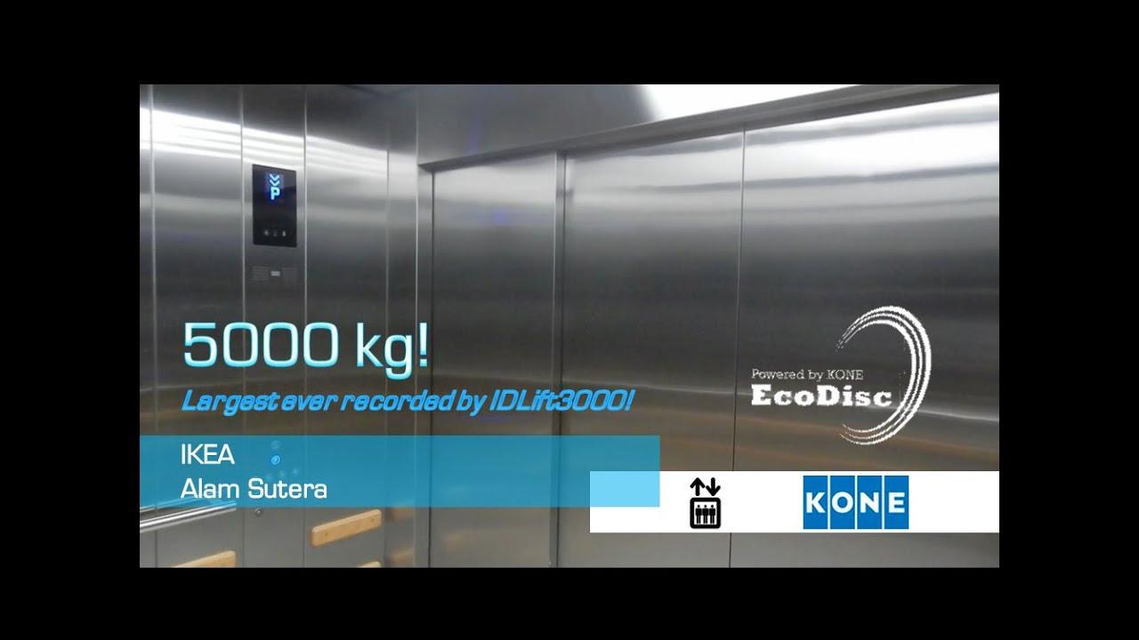 MASSIVE KONE TranSys Elevators at IKEA Alam Sutera, Banten (G - P