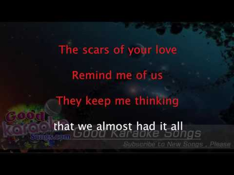 Rolling In The Deep - Mark Schultz ( Karaoke Lyrics )