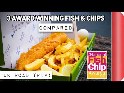 Is this REALLY the UK's BEST Fish and Chips?! | 3 Award Winners COMPARED