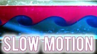 Kelvin-Helmholtz Experiment (slow motion)
