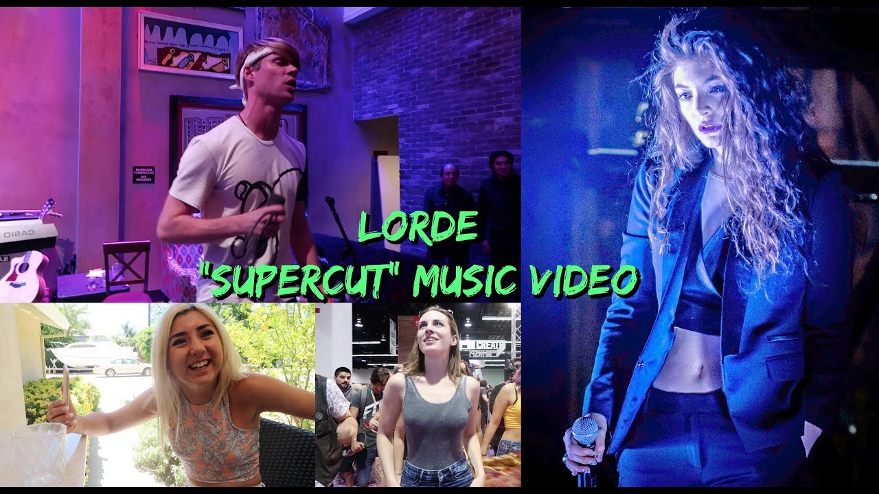 """Download Lorde - """"Supercut"""" Official Music Video"""