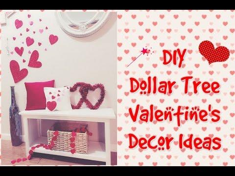 DIY Dollar Tree Valentines Room Decor