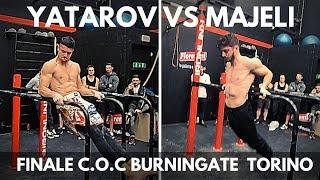 Finale Calisthenics FreeStyle Yatarov vs Majeli - COC Burningate - Tappa Torino