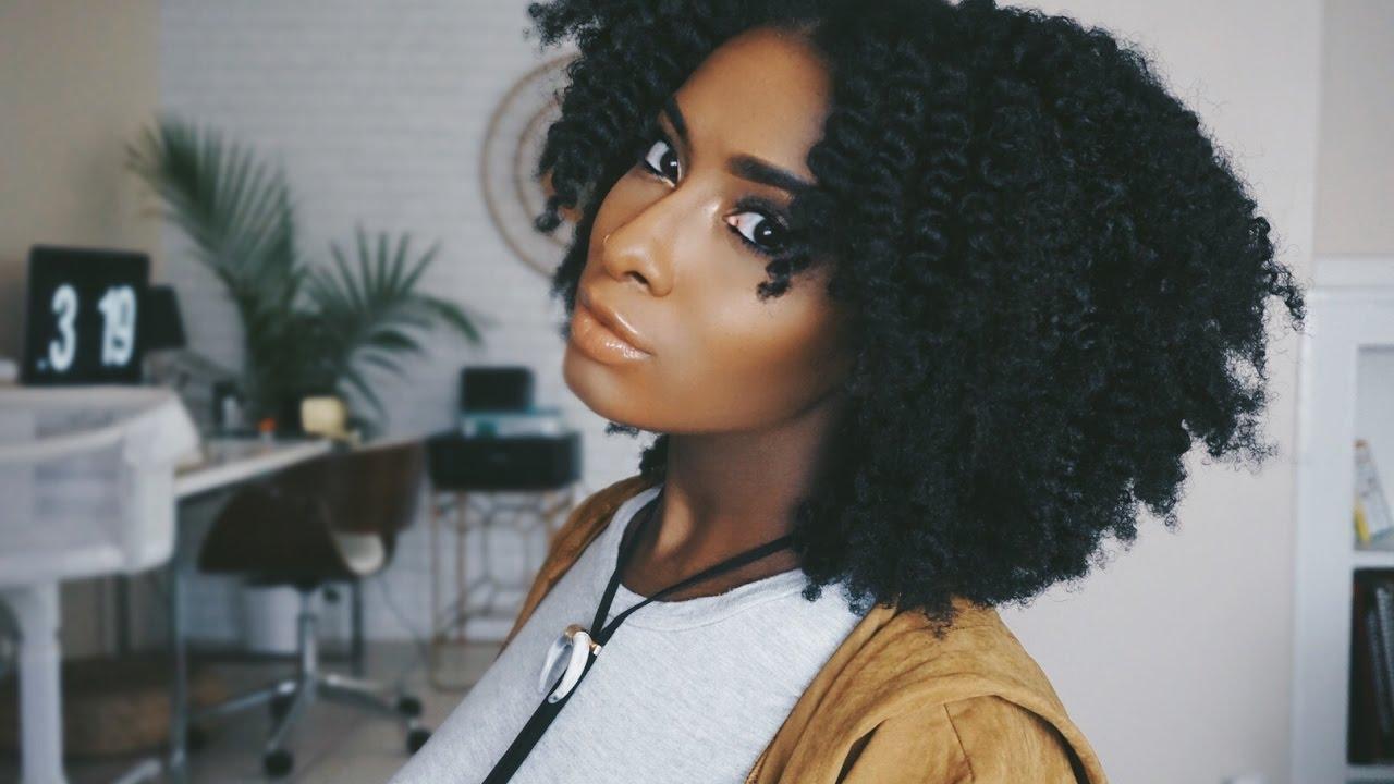 aa641d1012311 Shaping My Natural Hair At Home - YouTube
