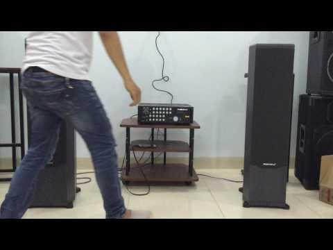 Bộ dàn nghe nhạc, karaoke Amply Paramax SA-999XP Black Piano và Loa Paramax F-1000