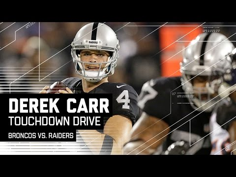 Derek Carr & Latavius Murray Come Up Big on Raiders TD Drive! | Broncos vs. Raiders | NFL
