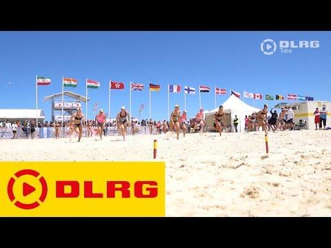 DLRG-Mitglieder bei der Weltmeisterschaft in Australien