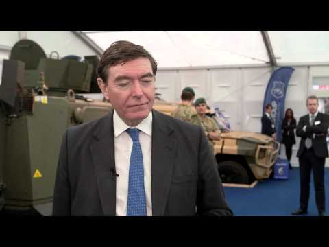 Philip Dunne MP Interview: International Armoured Vehicles