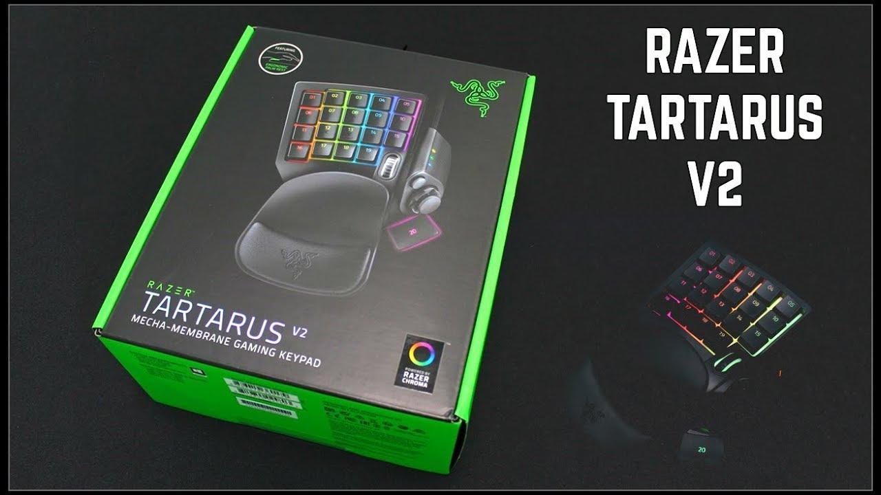 [ UNBOXING + LIGHTING FEATURE ] - RAZER TARTARUS V2