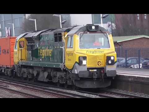 Eastleigh Railway Station 16/03/2015 .. Pt 1
