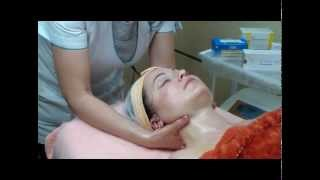 Хиромассаж лица - видео техники массажа в ДИНОС