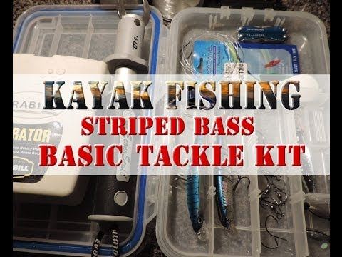 kayak fishing for striped bass - basic tackle kit - youtube, Soft Baits