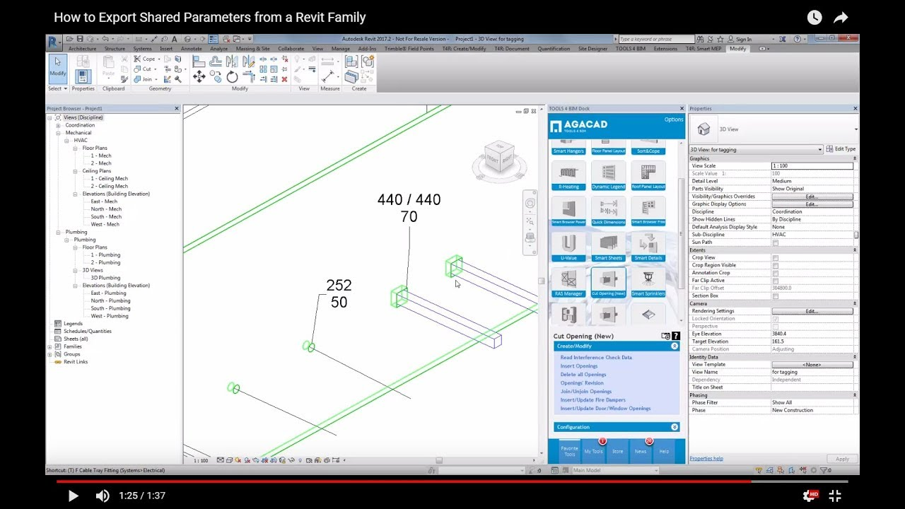 How to Export Shared Parameters from a Revit Family