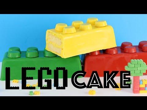 How To Make A Lego Cake Youtube