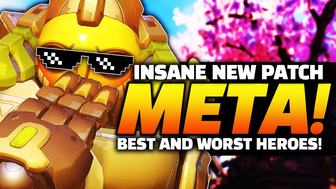 Overwatch - INSANE NEW Patch Meta! BEST and WORST Heroes! thumbnail
