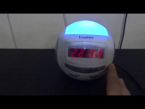 Radio Clock sferic Lazer