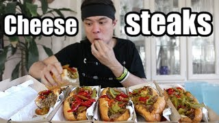 5 Philly Cheesesteaks DESTROYED (8,700 Calories)...