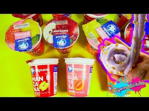 DON'T choose the wrong Yogurt to make Slime  - Supermanualidades