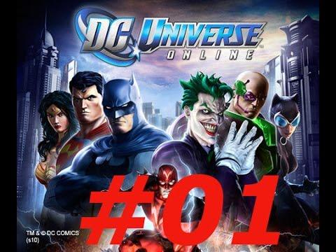 DC Universe Online Walkthrough Ep 01 Atomic Villain