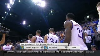 West Virginia Mountaineers vs Kansas Jayhawks  2-09-2016